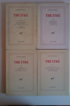 Eugene Ionesco - Theatre (4 volume, editie in limba franceza)