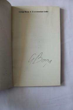 George Bocsa - Zi cu monsieur Godot (cu autograf)