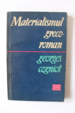 Poze Georges Cogniot - Materialismul greco-roman