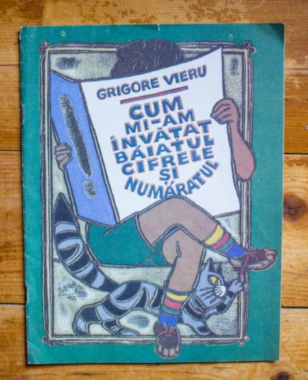 Grigore Vieru - Cum mi-am invatat baiatul cifrele si numaratul