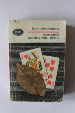 Ion Minulescu - Romante pentru mai tarziu
