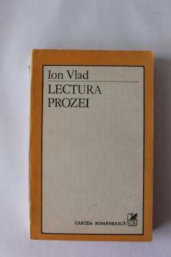 Ion Vlad - Lectura prozei