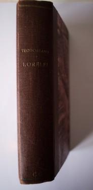 Ionel Teodoreanu - Lorelei (editie princeps, interbelica, hardcover, frumos relegata)