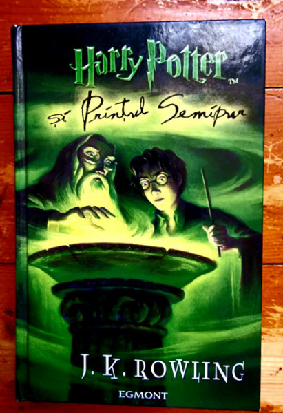 J. K. Rowling - Harry Potter si Printul Semipur (editie hardcover)