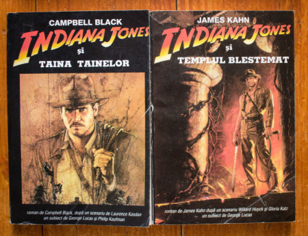 James Kahn, Campbell Black - Indiana Jones si templul blestemat. Indiana Jones si taina tainelor (2 vol.)