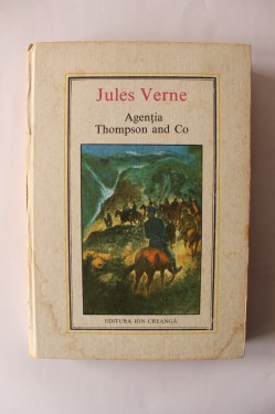 Poze Jules Verne - Agentia Thompson and Co (editie hardcover)