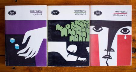 Liviu Rebreanu Ciuleandra Golanii Calvarul 3 volume bpt
