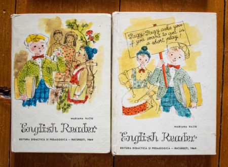 Mariana Ratiu - English reader (2 vol., editie hardcover)