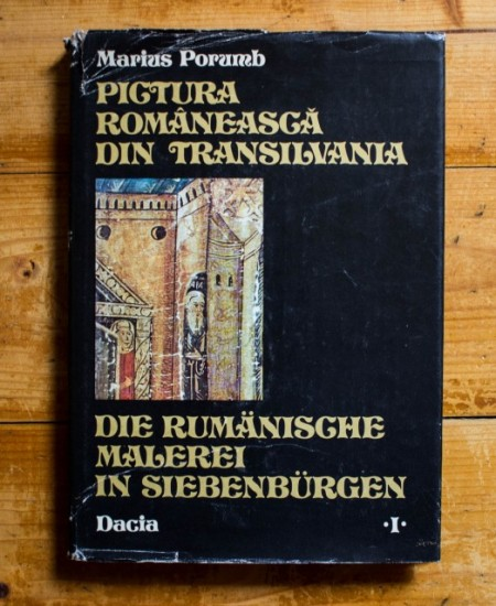 Marius Porumb - Pictura romaneasca din Transilvania / Die Rumanische Malerei in Siebenbergen (editie bilingva romano-germana, hardcover)