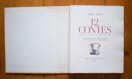 Mark Twain - 12 Contes (editie in limba franceza, in etui special)