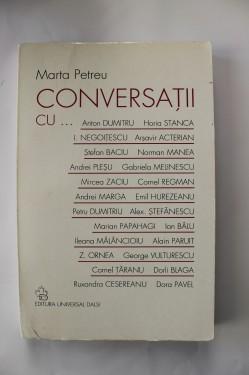 Marta Petreu - Coversatii cu... (cu autograf)