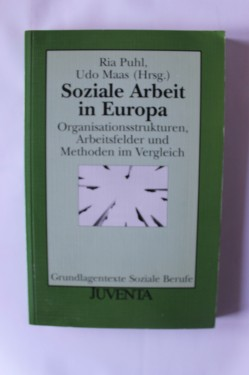 Ria Puhl, Udo Maas - Soziale Arbeit in Europa (editie in limba germana)