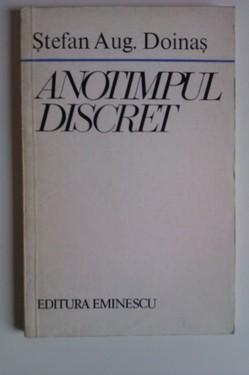Stefan Aug. Doinas - Anotimpul discret (cu autograf)