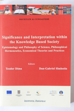 Teodor Dima, Dan-Gabriel Simbotin - Significance and interpretation within the knowledge based society