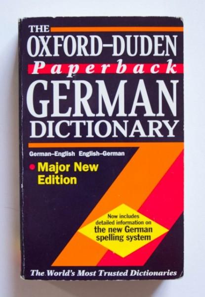 The Oxford-Duden German Dictionary (German-English, English-German)