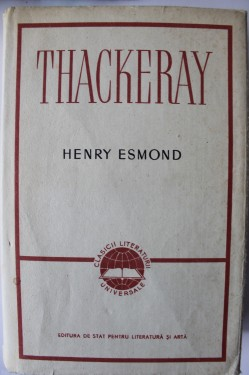 W. M. Thackeray - Henry Esmond (editie hardcover)