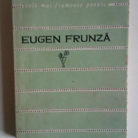 Eugen Frunza - Poezii. Cele mai frumoase poezii