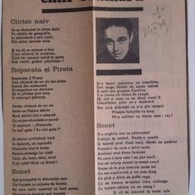 Emil Brumaru - 4 poezii publicate in revista