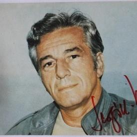 Fotografie cu autograful regizorului Sergiu Nicolaescu