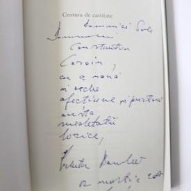 Nichita Danilov - Centura de castitate (cu autograf, contine CD)