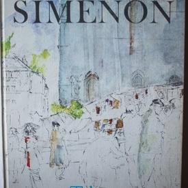 Georges Simenon - Le Paris de Simenon (editie hardcover, in limba franceza)