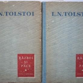L. N. Tolstoi - Razboi si pace (2 vol., editie hardcover)