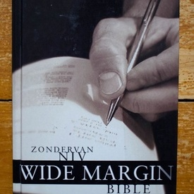 Zondervan Niv - Wide Margin Bible (editie hardcover, in limba engleza)