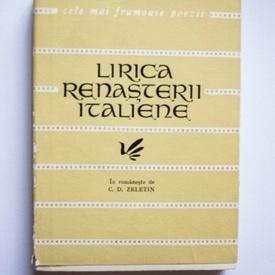 Colectiv autori - Lirica Renasterii Italiene - Cele mai frumoase poezii