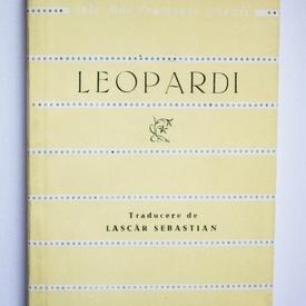 Giacomo Leopardi - Versuri. Cele mai frumoase poezii