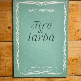 Walt Whitman - Fire de iarba
