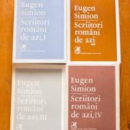 Eugen Simion - Scriitori romani de azi (editie completa, 4 vol.)