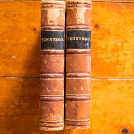 Alfred Tennyson - The Poetical Works of Alfred Tennyson (2 vol. colegate, editie hardcover, 1860)