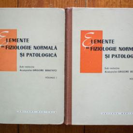 Acad. prof. dr. Grigore Benetato (coord.) - Elemente de fiziologie normala si patologica (2 vol., editie hardcover)
