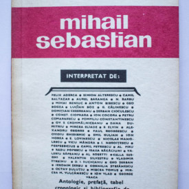 Biblioteca critica - Mihail Sebastian
