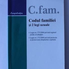 Codul familiei si doua legi uzuale