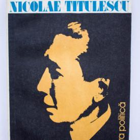 Colectiv autori - Mari figuri ale diplomatiei romanesti. Nicolae Titulescu
