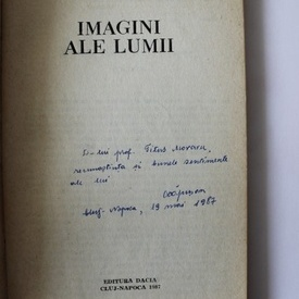 Cornel Capusan - Imagini ale lumii (cu autograf)