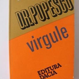 D.R. Popescu - Virgule (cu autograf)