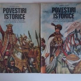 Dumitru Almas - Povestiri istorice (2 vol., cu autograful autorului si al ilustratorului)