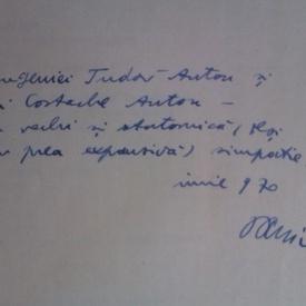 Dumitru Micu - Inceput de secol (cu autograf)