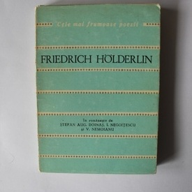 Friedrich Holderlin - Poezii. Cele mai frumoase poezii