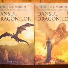 George R. R. Martin - Saga Cantec de gheata si foc. Dansul dragonilor (2 vol.)