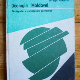 Gheorghe Bagu, Alecu Mocanu - Geologia Moldovei. Stratigrafie si consideratii economice (editie hardcover)