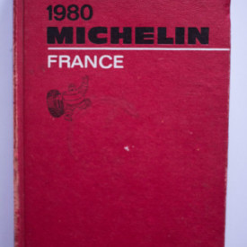 Ghid 1980 Michelin France (editie hardcover)