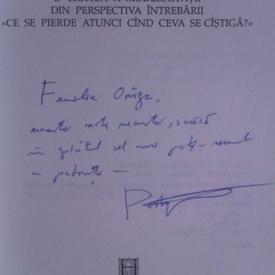 H.-R. Patapievici - Omul recent (cu autograf)