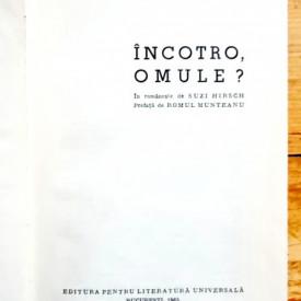 Hans Fallada - Incotro, omule? (editie hardcover)