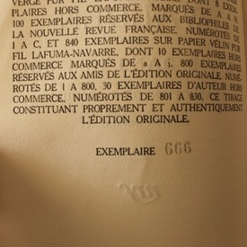Henry David Thoreau - Walden ou la vie dans les bois (editie interbelica, in limba franceza)