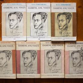 Ilya Ehrenburg - Oameni, ani, viata (editie completa, 7 vol.)