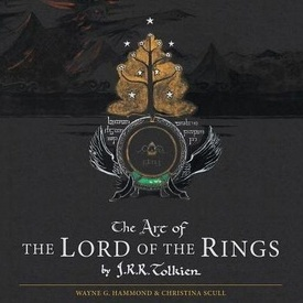 J.R.R. Tolkien - The Art of The Lord of the Rings (editie hardcover, in limba engleza)