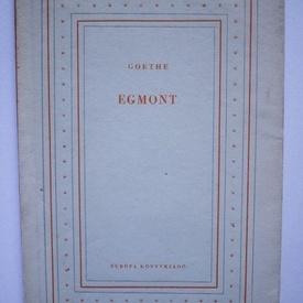 J.W. Goethe - Egmont (editie in limba maghiara)